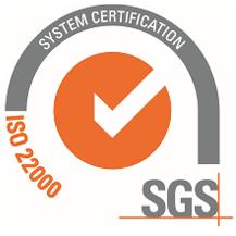 ISO 22000 certificaat Life SUPPLIES